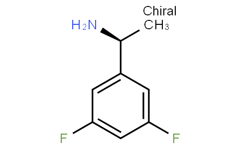 91121 - Benzenemethanamine, 3,5-difluoro-α-methyl-, (alphaS)- (9CI) | CAS 444643-16-7
