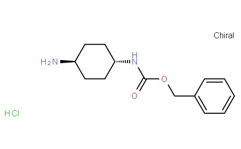 81732 - Benzyl (trans-4-aminocyclohexyl)carbamate hydrochloride | CAS 1217664-37-3