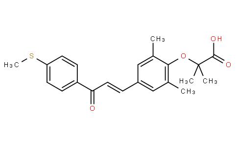 5112801 - Elafibranor(GFT505) | CAS 923978-27-2