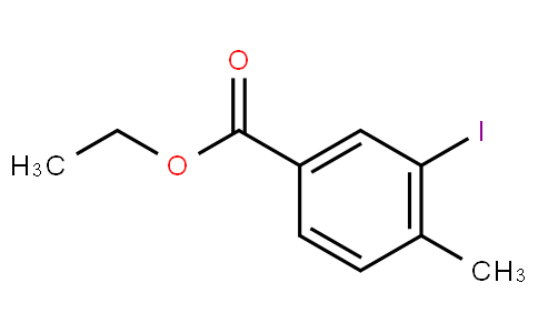 80314 - Ethyl 3-iodo-4-methylbenzoate | CAS 859212-59-2