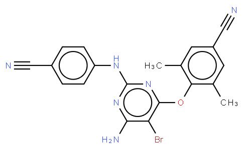 16122767 - Etravirine (TMC125) | CAS 269055-15-4