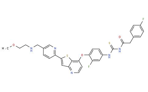 012001 - Glesatinib(MGCD-265) | CAS 936694-12-1
