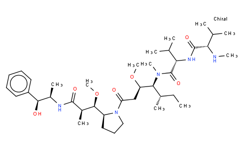 17022403 - MMAE (Monomethyl auristatin E) | CAS 474645-27-7