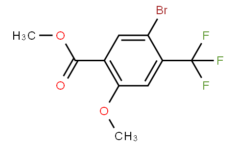 80310 - Methyl 5-bromo-2-methoxy-4-(trifluoromethyl)benzoate | CAS 1131587-97-7