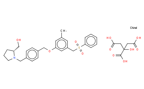 6111525 - PF-543 Citrate | CAS 1415562-83-2