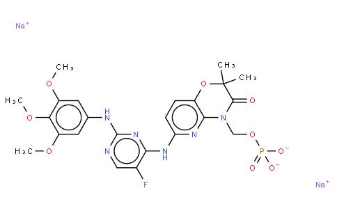 51609 - R788 (Fostamatinib) Disodium | CAS 1025687-58-4