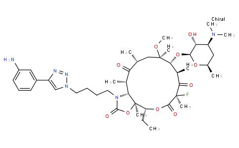 17011710 - Solithromycin | CAS 760981-83-7
