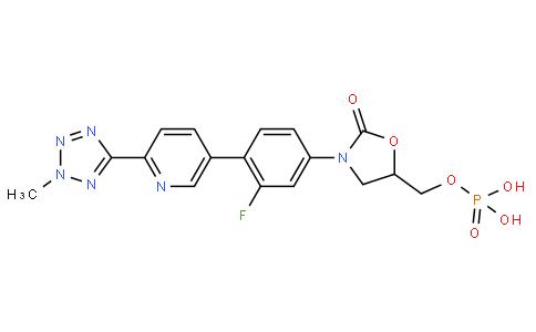 120713 - Tedizolid phosphate | CAS 856867-55-5