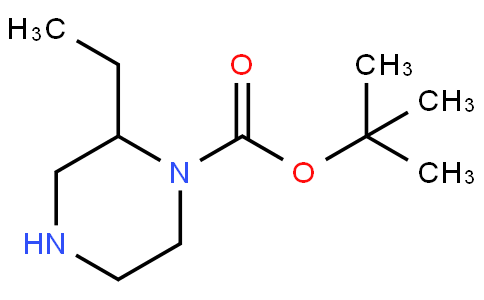 81708 - Tert-butyl 2-ethylpiperazine-1-carboxylate | CAS 393781-71-0