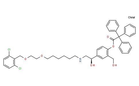 1783023 - Vilanterol trifenatate | CAS 503070-58-4