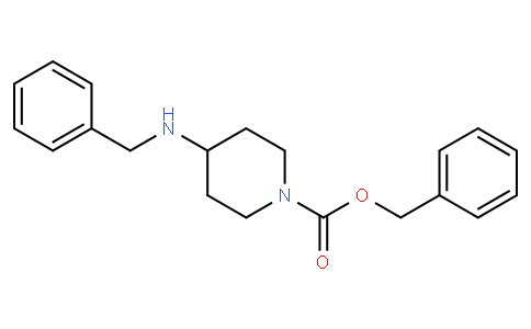 81809 - benzyl 4-(benzylamino)piperidine-1-carboxylate | CAS 206274-42-2