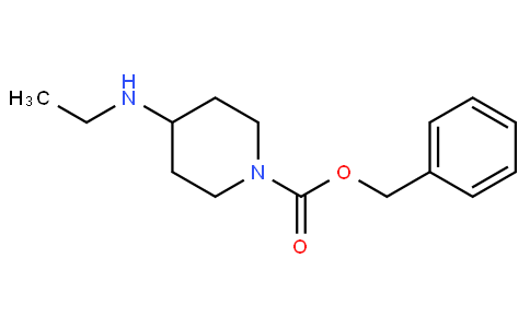 81810 - benzyl 4-(ethylamino)piperidine-1-carboxylate | CAS 159874-38-1