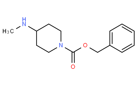 81808 - benzyl 4-(methylamino)piperidine-1-carboxylate | CAS 405057-75-2