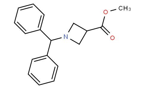 83124 - methyl 1-benzhydrylazetidine-3-carboxylate | CAS 53871-06-0
