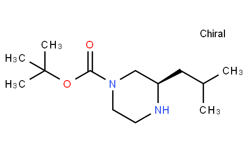 81907 - tert-butyl (3R)-3-(2-methylpropyl)piperazine-1-carboxylate | CAS 928025-61-0