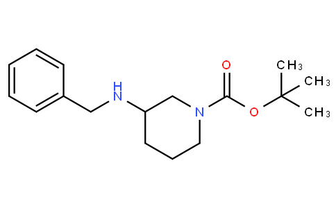 83115 - tert-butyl 3-(benzylamino)piperidine-1-carboxylate | CAS 183207-64-9