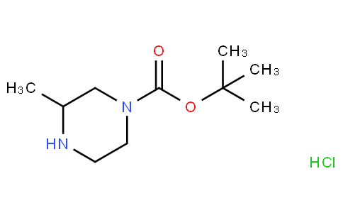 81730 - tert-butyl 3-methylpiperazine-1-carboxylate,hydrochloride | CAS 313657-42-0