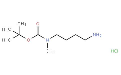 81918 - tert-butyl N-(4-aminobutyl)-N-methylcarbamate,hydrochloride | CAS 1188263-68-4